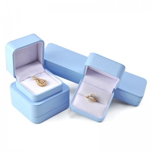 Wholesale China Manufacture Green Packaging Set Jewellery Pu Leather Jewelry Box