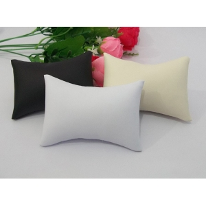 Wholesale China custom high quality leatherette for watch and jewellery shop counter and window display leather pillow and cushions