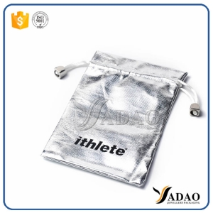 Wholesale  fashion silver packing pouch with Protective effect of jewellery bag made in shenzhen
