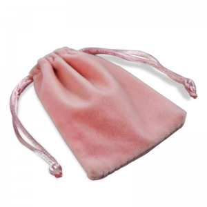 Wholesale soft velvet packing gift pouch to protact the jewellery with custom service of shenzhen manufacture