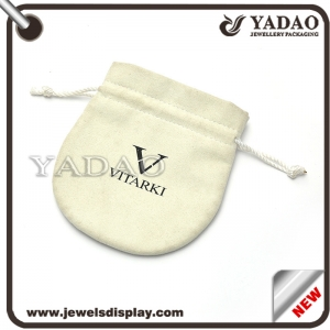 Wholesale suede packing pouch with Protective effect of jewellery bag made in shenzhen
