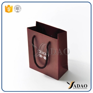 Yadao latest design jewellery paper bag shopping craft handbag with free logo customize