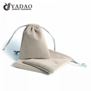 Yadao wholesale jewelry velvet pouch with drawstring closure jewelry packaging pouch