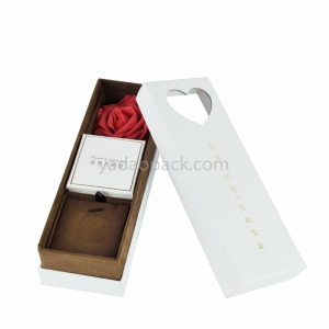 customize gift packaging box jewelry box flower box for Mother's day