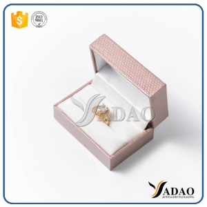 designable adorable tempting wonderful wholesale OEM, ODM plastic box with velvet inside for couple rings from Yadao Company