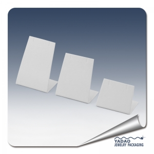 earring and necklace display cards and stand for jewelry earring display