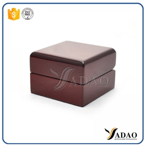 glossy lacquer wooden box with high quality for jewelry packaging from China