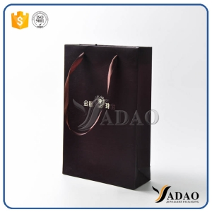 high-end handmade OEM durable bulk sale 210/230/250gsm paper material gift/shopping bags