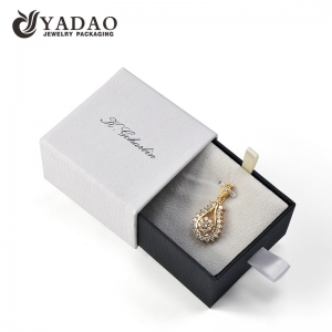 high quality drawer box for ring pendant jewelry