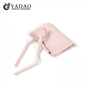 microfiber pouch with beautiful custom color