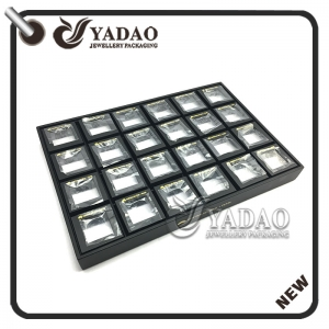 newest original durable cost-effective well-designed MOQ wholesale custom ring display trays with small box