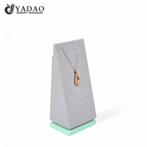 pendent holder display by unique shape