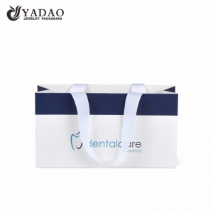 shopping bag paper bag with logo