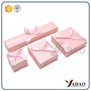 wonderful adorable bulk sale hand-made warm color paper box for silver/golden rings/earrings/pendants