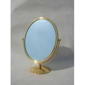 China 2015 new design oval shape aluminum mirror jewelry cabinet mirror for makeup mirror frame made in China factory