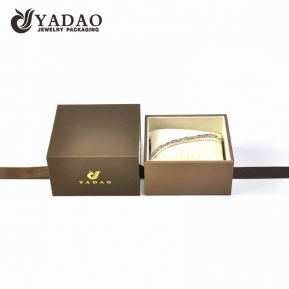 China Bracelet box with cushion/pillow inside factory