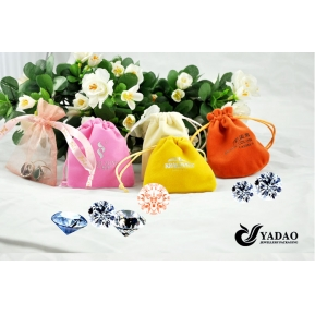China China Jewelry Supplier Velvet Jewelry Packaging Pouch Jewelry Display Bags factory