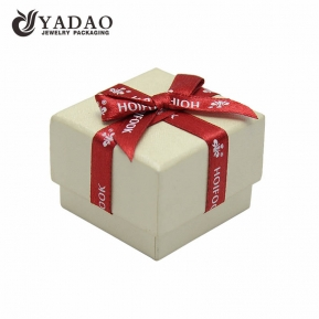 China Chinese jewelry  packing manufacturer of Luxury blue hard  paper boxes and chests for jewelry and gift packing and display used in shop counter and window with ribbon factory