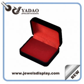 China Custom handmade jewelry box velvet box ring box pendant box factory