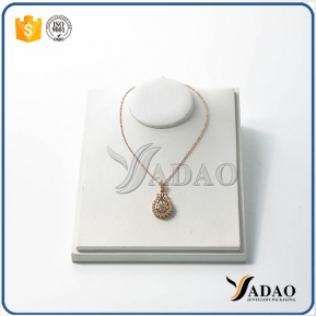 China Customize OEM ODM cute nice jewelry display bust necklace display bust neck forms with free logo printing factory