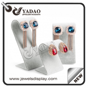 China Customized velvet earring display/ stud stand with different sizes suitable for exhibiting all kinds of earrings. factory