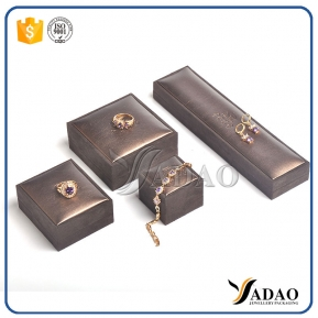 China European retro and classic design jewelry box for Jewelry display and packing fashion case factory