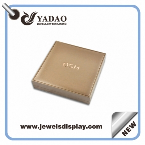 China Fashion luxury wholesale jewelry box packaging sets , clear jewelry box packaging, jewelry gift packaging box for ring, necklace factory