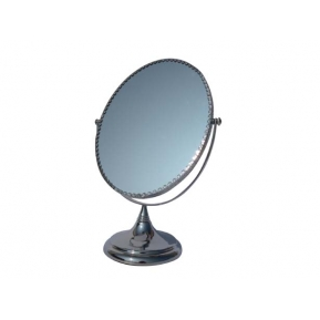 China Fashion oval shape aluminum mirror jewelry cabinet mirror for makeup mirror frame made in China factory