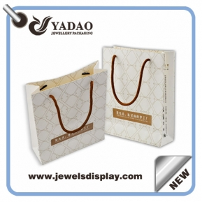China Fashion paper jewelry bag for shopping bag made in China factory