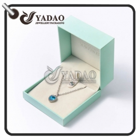 China Fashionable mint plastic pendant box other colors such as pink and grey, etc. are also available. factory