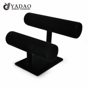 China High quality leatherette display stand for watch or bangle with factory price factory