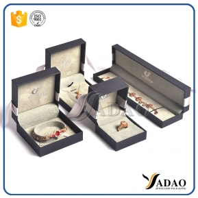 China Luxury Handmade Bespoke Jewellery Boxes & Necklace Ring Bracelet Box & Jewelry Box Gift Packaging Jewelry Boxes Supplier factory