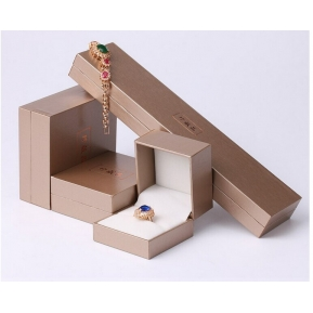China Luxury Handmade Bespoke Jewellery Boxes & Necklace Ring Bracelet Box & Jewelry Box leather jewelry box with drawer factory