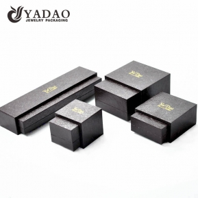 China Luxury custom handmade good quality favorable price competitive quality jewelry box sets with outside sleeves factory