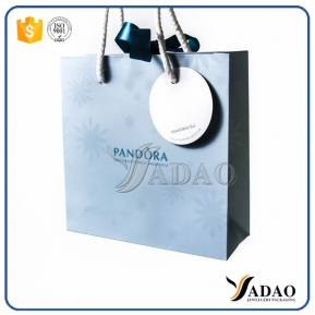 China Make Your Jewlry Perfect -Customize hot sale low price jewelry gift bag shopping bag package bag paper bag with free logo factory