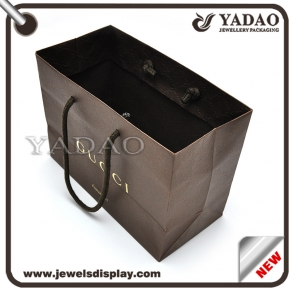 China New style paper bag, gift bag, packing bag, shopping paper bag factory