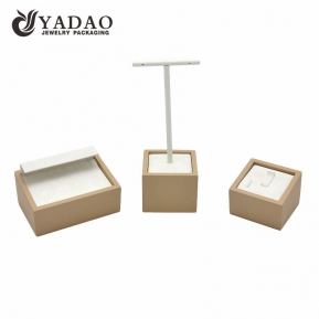 China Nice durable luxury lovely designable  erogenous three-in0one customizable ring/earring display stands factory