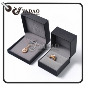 China OEM/ODM plastic jewelry box for ring or pendant package made in big professional factory directly on sale. factory