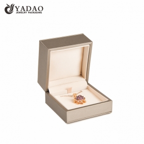 China Pendant jewelry box packaging high quality jewelry packaging customize with logo and color factory
