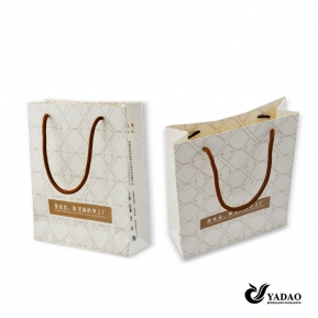 China Recycle Paper Bag Customized Paper Gift Packaging Bag Paper Shopping Bag  Manufacturer factory