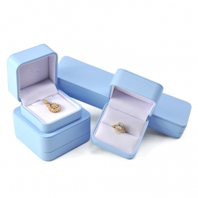 China Wholesale China Manufacture Green Packaging Set Jewellery Pu Leather Jewelry Box factory