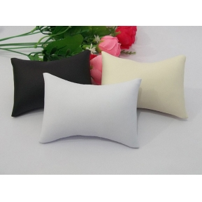 China Wholesale China custom high quality leatherette for watch and jewellery shop counter and window display leather pillow and cushions factory