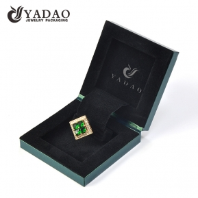 China Wholesale Luxury Ring Paper Packing Custom Logo Packaging Ring Jewelry Box factory