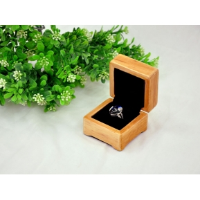 China Wholesale factory wood texture wooden ring box factory