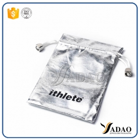 China Wholesale  fashion silver packing pouch with Protective effect of jewellery bag made in shenzhen factory