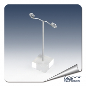 China acrylic and metal earring display stand for jewelry display factory