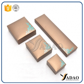 China beautiful China elements durable long-lasting  wholesale uxury plastic jewelry box with leatherette paper ring/pendant/necklace/bangle box,etc. factory