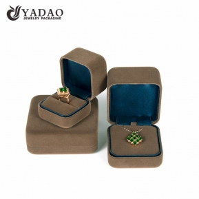 China beautiful best quality handmade fabulous fair price popular well-touched high luxury jewelry box for sale . factory