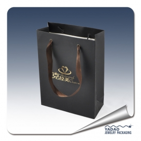 China custom gift bags for jewelry packaging with drawstring factory