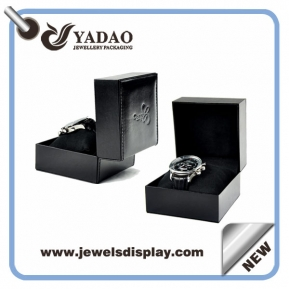 China customize plastic jewelry box pillow watch box plastic watch packaging box pillow insert  factory